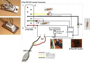 dummy programator za PIC12F509/629